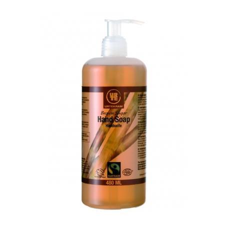 Brown Sugar/Rose Hand Soap, Mydło do rąk w płynie zapachowe marki Urtekram - zdjęcie nr 1 - Bangla