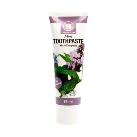 Mint Toothpaste, Pasta do zębów Miętowa/Miętowa z zieloną herbatą marki Urtekram - zdjęcie nr 1 - Bangla