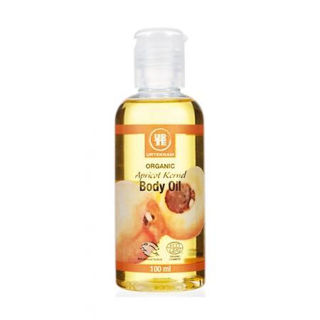 Organic Apricot Kernel Body Oil, Olejek do ciała z Pestek Moreli marki Urtekram - zdjęcie nr 1 - Bangla