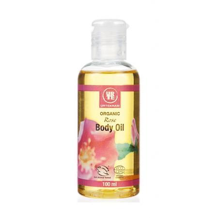 Organic Rose Body Oil, Olejek do ciała Dzika Róża marki Urtekram - zdjęcie nr 1 - Bangla