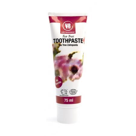 Tea Tree Toothpaste, Pasta do zębów z drzewem herbacianym marki Urtekram - zdjęcie nr 1 - Bangla