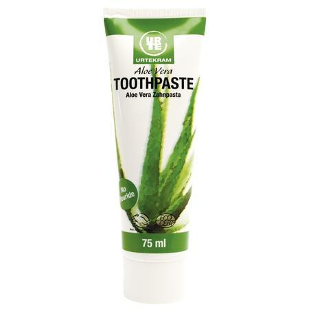 Aloe Vera Toothpaste, Pasta do zębów Aloesowa marki Urtekram - zdjęcie nr 1 - Bangla