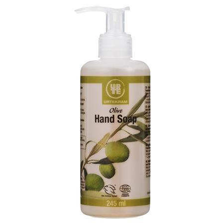 Olive Hand Soap, Mydło w płynie oliwkowe marki Urtekram - zdjęcie nr 1 - Bangla