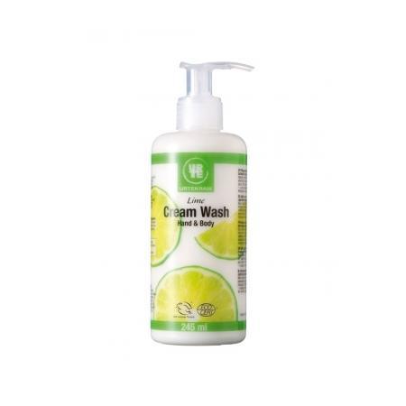 Lime Cream Wash, Kremowe mydło w płynie cytrynowe marki Urtekram - zdjęcie nr 1 - Bangla