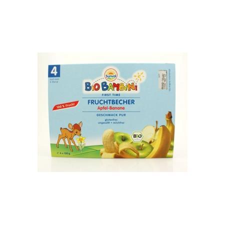 Bio Bambini Fruchtebecher, Deser, różne smaki marki Sunval - zdjęcie nr 1 - Bangla