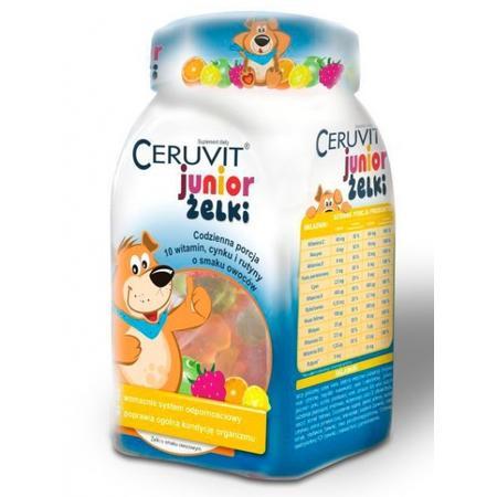Ceruvit Junior żelki marki Polfarmex - zdjęcie nr 1 - Bangla