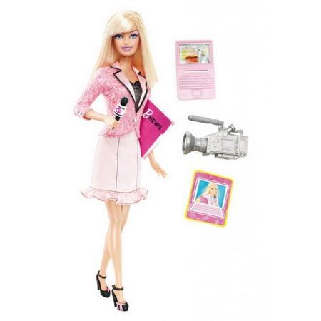 Barbie Prezenterka Wiadomości T2692 marki Mattel - zdjęcie nr 1 - Bangla