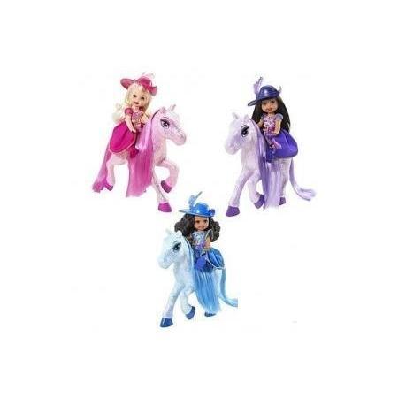 Barbie Muszkieterka Shelly Na Koniu N8022 marki Mattel - zdjęcie nr 1 - Bangla