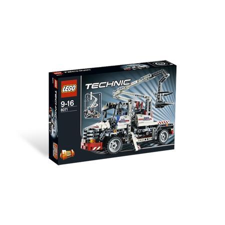Technic, Ciężarówka z podnośnikiem koszowym, 8071 marki Lego - zdjęcie nr 1 - Bangla