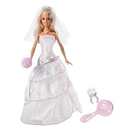 Barbie Ślubny Blask Panna Młoda N4970 marki Mattel - zdjęcie nr 1 - Bangla
