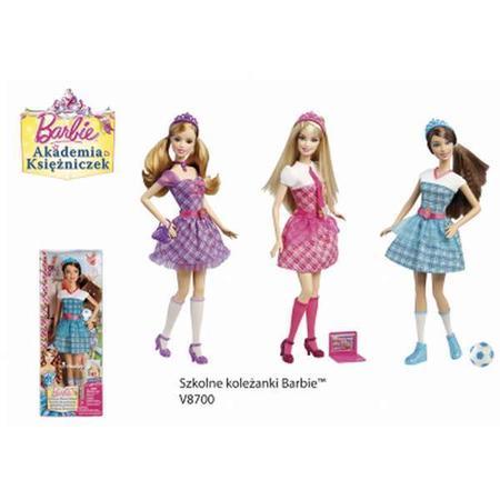Barbie Akademia Księżniczek, Szkolne koleżanki V8700 marki Mattel - zdjęcie nr 1 - Bangla
