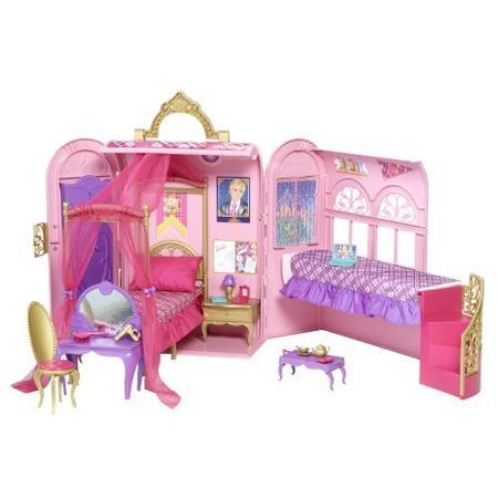 Barbie, Akademia Księżniczek, Szkolny Domek V6823 marki Mattel - zdjęcie nr 1 - Bangla
