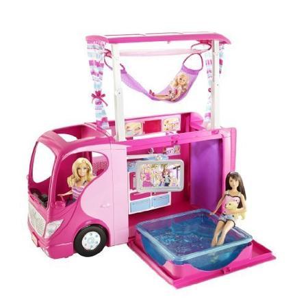 Barbie Rodzinny Kamper V6981 marki Mattel - zdjęcie nr 1 - Bangla
