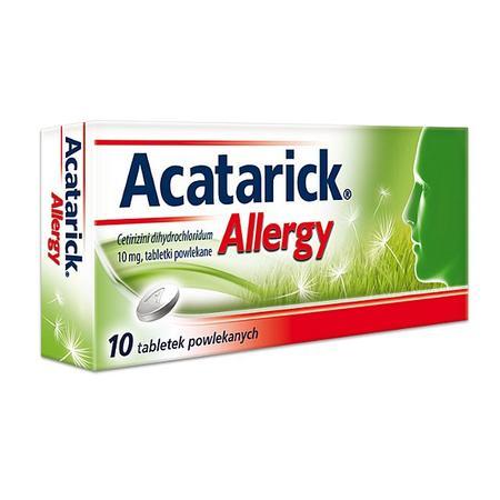 Acatarick Allergy 10 mg marki USP Zdrowie - zdjęcie nr 1 - Bangla