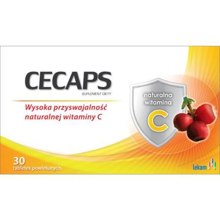 Cecaps, tabletki marki Lekam - zdjęcie nr 1 - Bangla