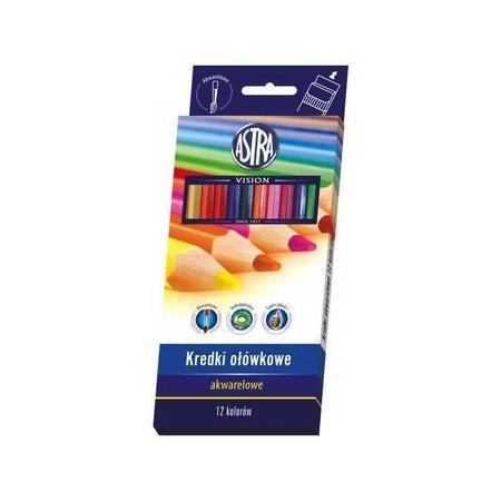 Kredki Ołówkowe Akwarelowe marki Astra - zdjęcie nr 1 - Bangla