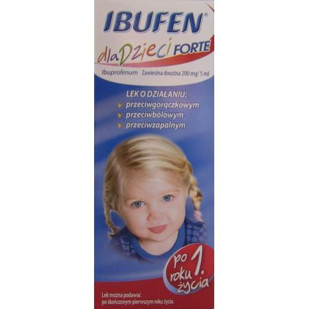Ibufen Forte dla dzieci, 200mg/5ml marki Polpharma - zdjęcie nr 1 - Bangla
