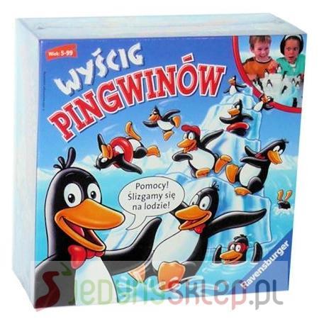 Wyścig Pingwinów 219971 marki Ravensburger - zdjęcie nr 1 - Bangla