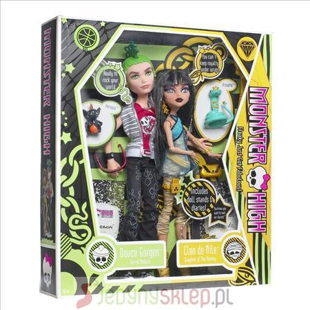 Barbie, Monster High Cleo & Deuce 2854 marki Mattel - zdjęcie nr 1 - Bangla