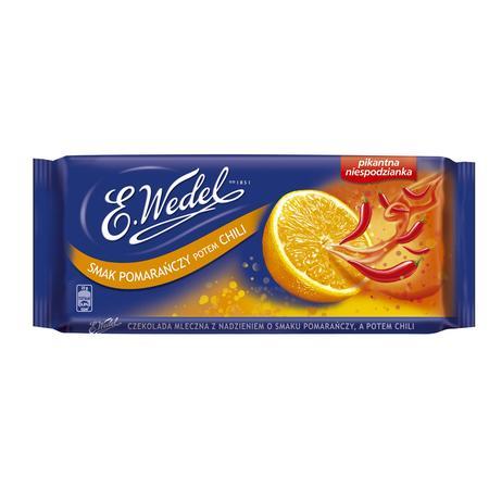 Pikantna Niespodzianka, Smak Pomarańczy Potem Chili marki Wedel - zdjęcie nr 1 - Bangla