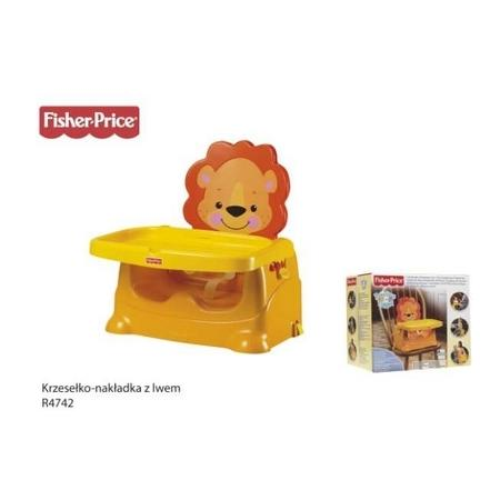 Krzesełko do karmienia z Lwem, R4742 marki Fisher-Price - zdjęcie nr 1 - Bangla