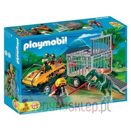 Amfibia i Deinonychus 4175 marki Playmobil - zdjęcie nr 1 - Bangla