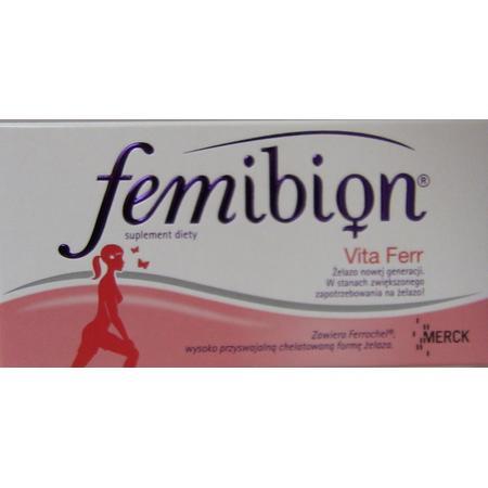 Femibion Vita Ferr marki Merck - zdjęcie nr 1 - Bangla