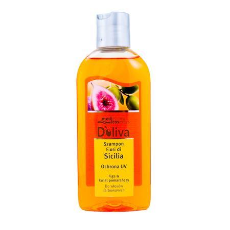Fiori di Sicilia, Ochrona UV, Szampon do włosów farbowanych marki Doliva - zdjęcie nr 1 - Bangla