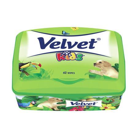 Velvet Kids, papier toaletowy nawilżany marki Kimberley-Clark - zdjęcie nr 1 - Bangla
