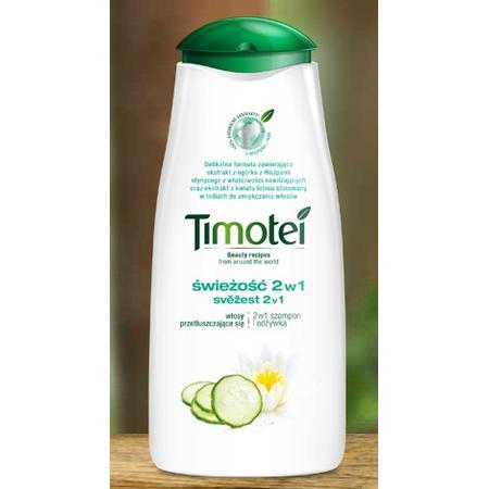 Świeżość 2 w 1, Włosy przetłuszczajace się, szampon i odżywka marki Timotei - zdjęcie nr 1 - Bangla