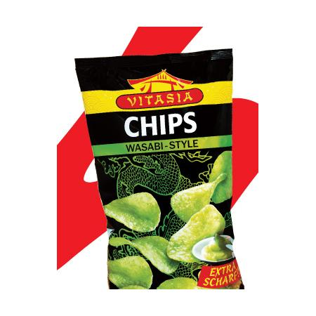 Vitasia, Chips Wasabi Style marki Lidl - zdjęcie nr 1 - Bangla