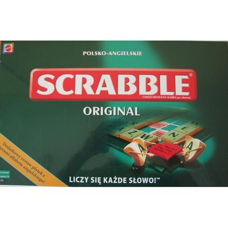 Scrabble Original, Polsko-Angielskie, X2670 marki Mattel - zdjęcie nr 1 - Bangla