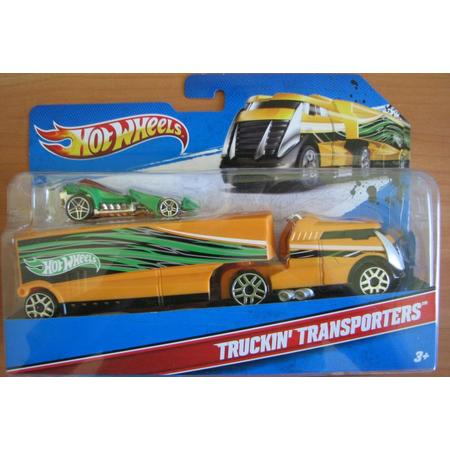 Truckin' Transporters, Transportery, różne modele marki Hot Wheels - zdjęcie nr 1 - Bangla