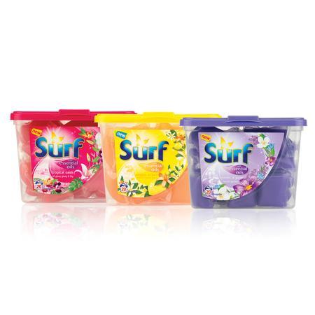Surf, Essential Oils, Kapsułki z płynem do prania marki Unilever - zdjęcie nr 1 - Bangla