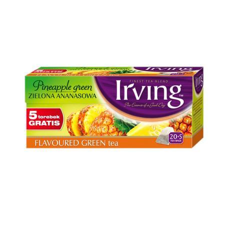 Herbata Zielona Ananasowa marki Irving - zdjęcie nr 1 - Bangla