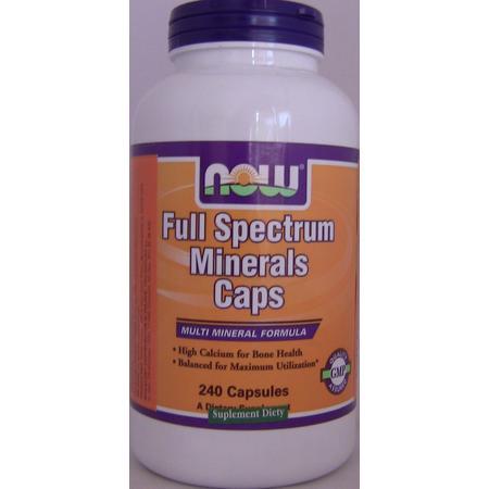 Full Spectrum Minerals Caps marki Now Foods - zdjęcie nr 1 - Bangla