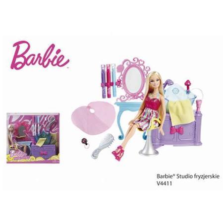 Barbie, Studio fryzjerskie V4411 marki Mattel - zdjęcie nr 1 - Bangla