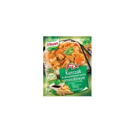 Kurczak w aksamitnym sosie orzeszkowym marki Knorr - zdjęcie nr 1 - Bangla