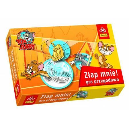 Tom & Jerry, Złap Mnie, gra przygodowa, 0392 marki Trefl - zdjęcie nr 1 - Bangla