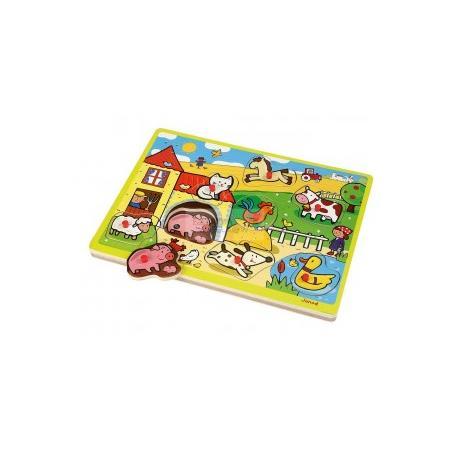 Puzzle z dźwiękami, różne zestawy marki Janod - zdjęcie nr 1 - Bangla