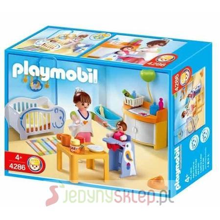 Pokój dziecinny z pozytywką 4286 marki Playmobil - zdjęcie nr 1 - Bangla