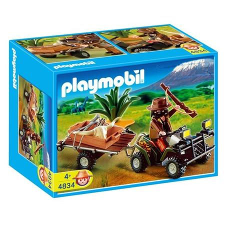 Quad kłusownika 4834 marki Playmobil - zdjęcie nr 1 - Bangla