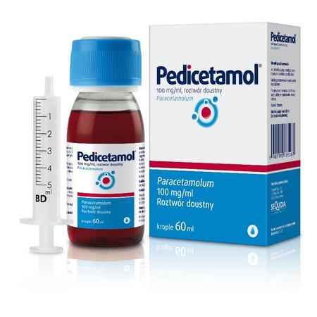 Pedicetamol, roztwór doustny marki Sequoia - zdjęcie nr 1 - Bangla