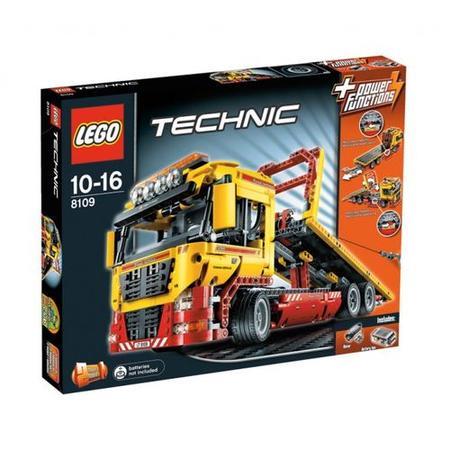 Technic, Ciężarówka z płaską platformą, 8109 marki Lego - zdjęcie nr 1 - Bangla