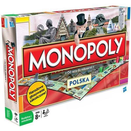 Monopoly POLSKA 01610 marki Hasbro - zdjęcie nr 1 - Bangla