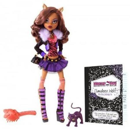 Monster High Upiorni uczniowie Clawdeen Wolf marki Mattel - zdjęcie nr 1 - Bangla