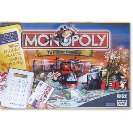 Monopoly, Tu i Teraz Banking marki Parker - zdjęcie nr 1 - Bangla