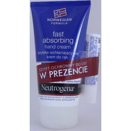 Fast absorbing hand cream, Szybko wchłaniający się krem do rąk marki Neutrogena - zdjęcie nr 1 - Bangla