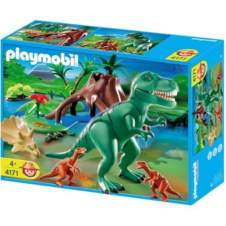 T-Rex z Velociraptorem, 4171 marki Playmobil - zdjęcie nr 1 - Bangla