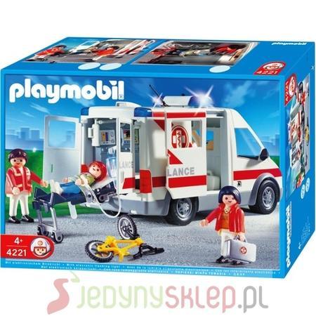 Ambulans 4221 marki Playmobil - zdjęcie nr 1 - Bangla
